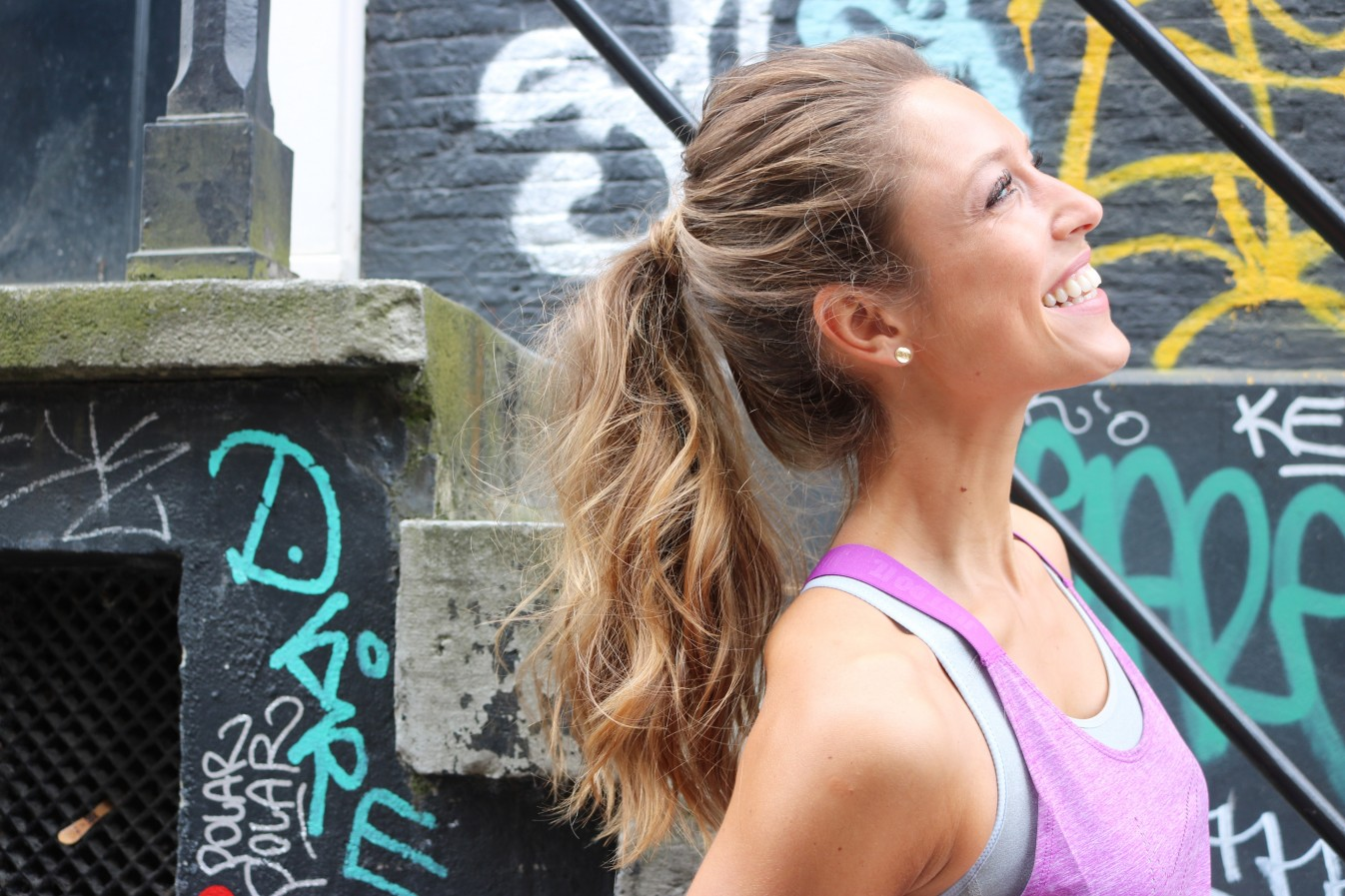 sporty hairstyles ponytail