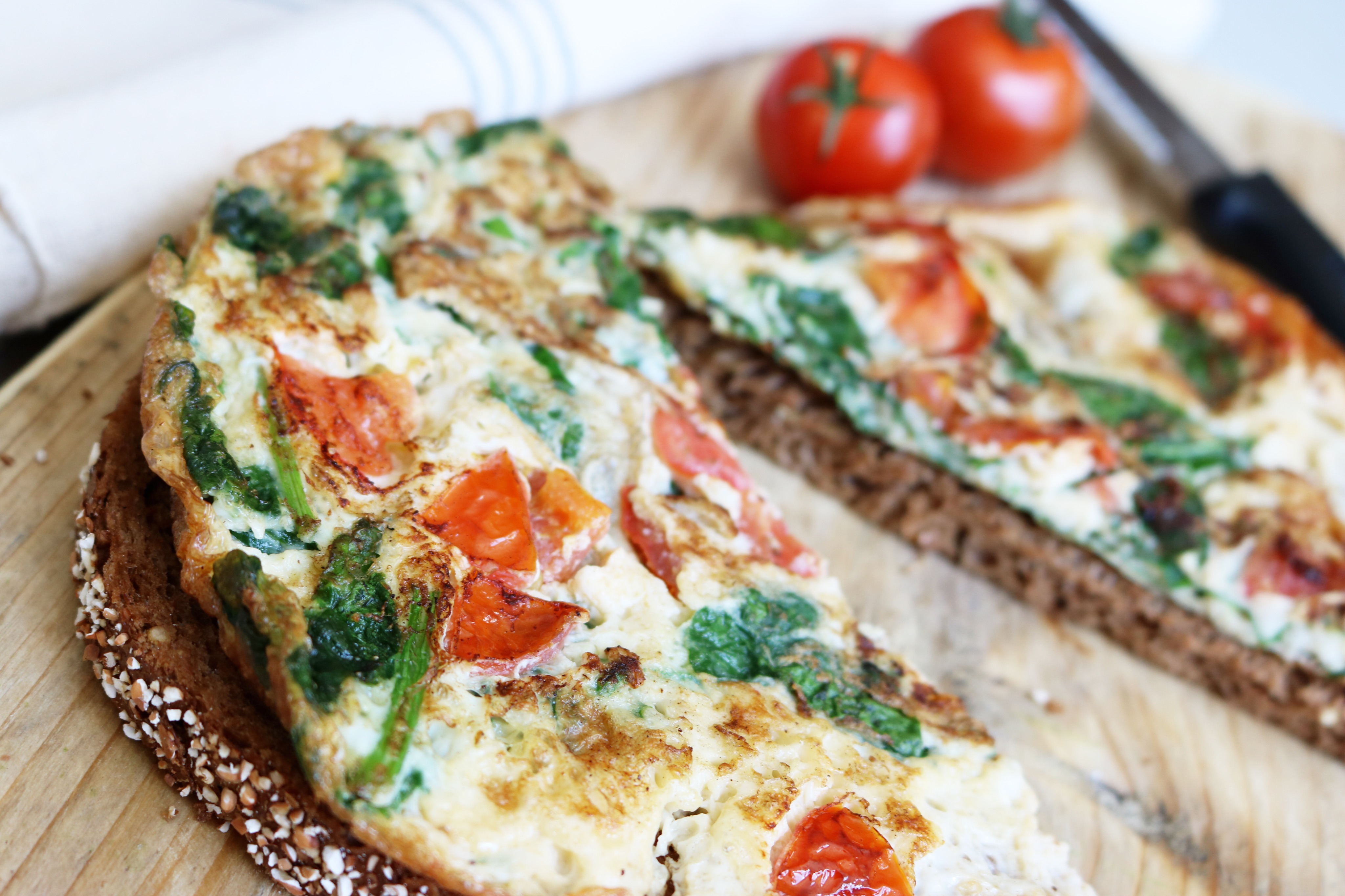 how to make a veggie omelette easy